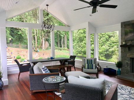 Screen The Porch For Outdoor Living All Year Round