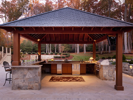 Heating Up October With Our Monthly Feature: 5 Reasons You Need An Outdoor Kitchen And Fireplace