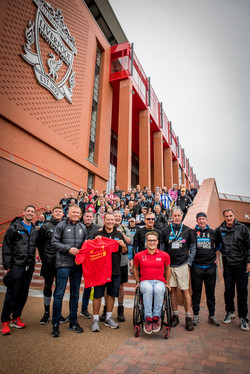 Celebrities at Liverpool FC