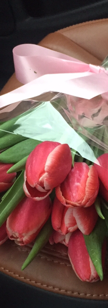 Simple elgant tulips to give to someone just because