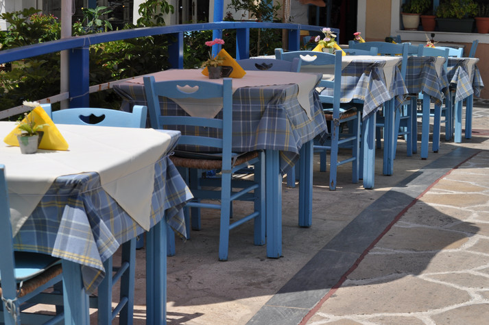 Kokkari Village cafe