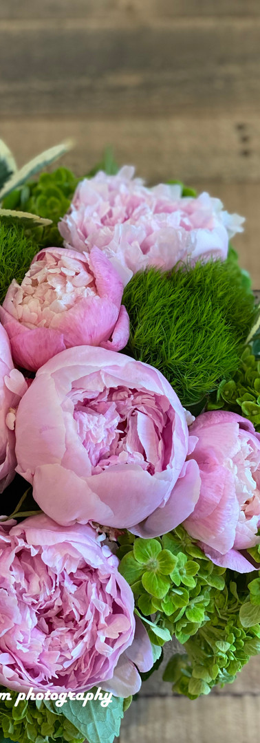 Peony lover! this is for you! made a cute fun centerpiece for a dinner