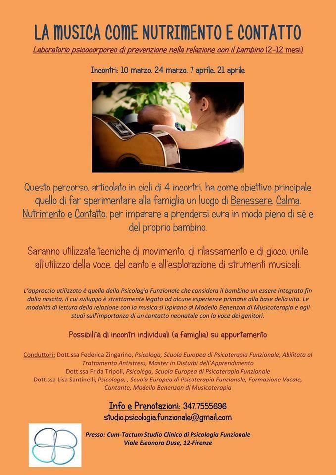 Psicologia Funzionale Firenze Cum-Tactum Psicologo bambini