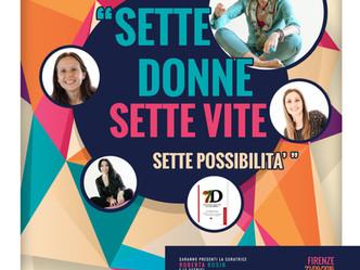 """PRESENTAZIONE LIBRO """"Sette donne, sette vite, sette possibilità"""""""