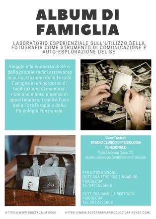Album di Famiglia: Laboratorio Esperienziale sull'utilizzo della Fotografia come strumento di co
