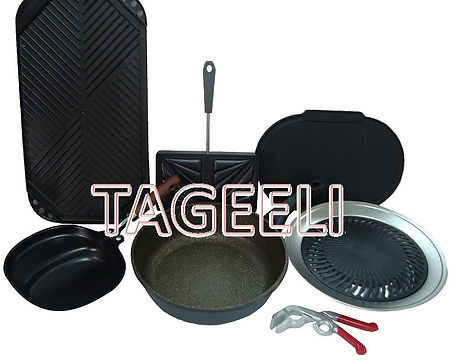 Defrost tray and sandwich makers