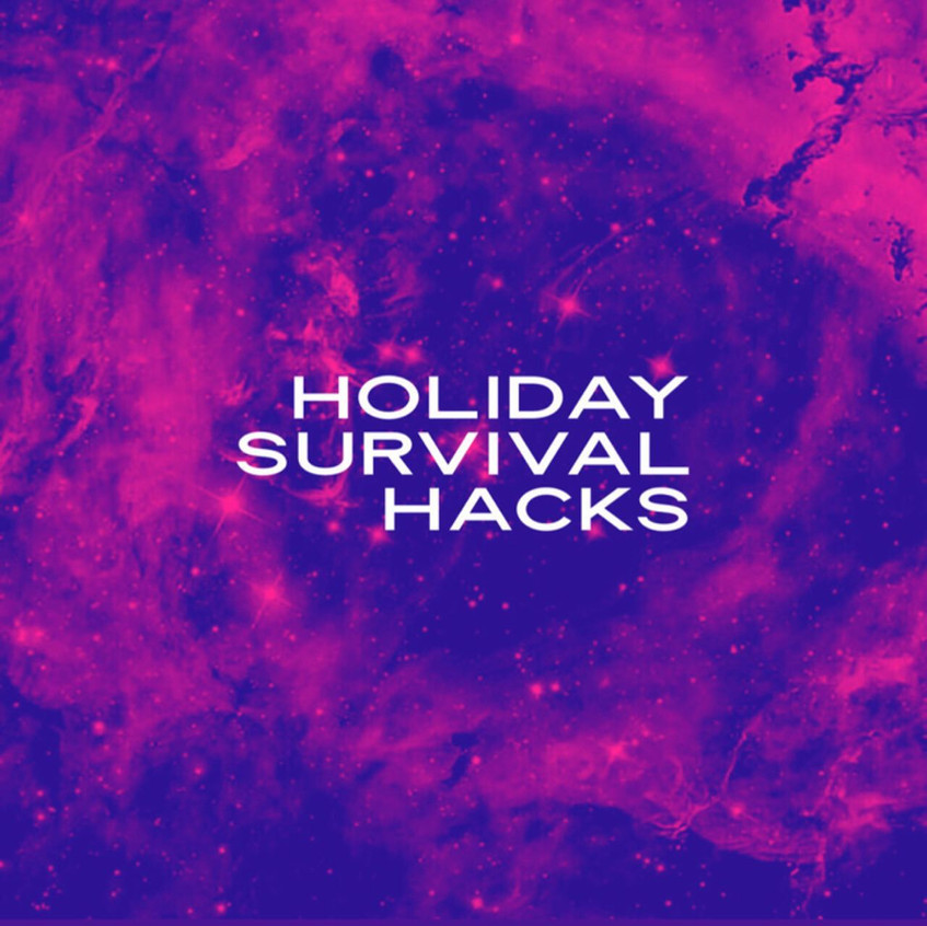 #HolidaySurvivalHacks