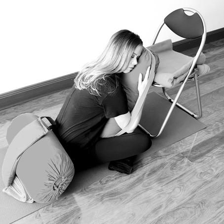 Restorative Yoga - a self care practice.