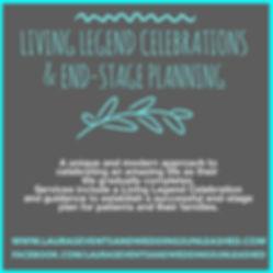 Living Legend Celebration and planning in Arizona. Celebration of Life in Arizona