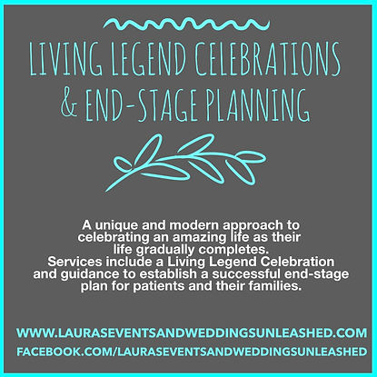 Living Legend Celebration and planning in Arizona. Celebration of Life in Arizona