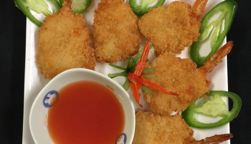 Fried Shrimp Dish