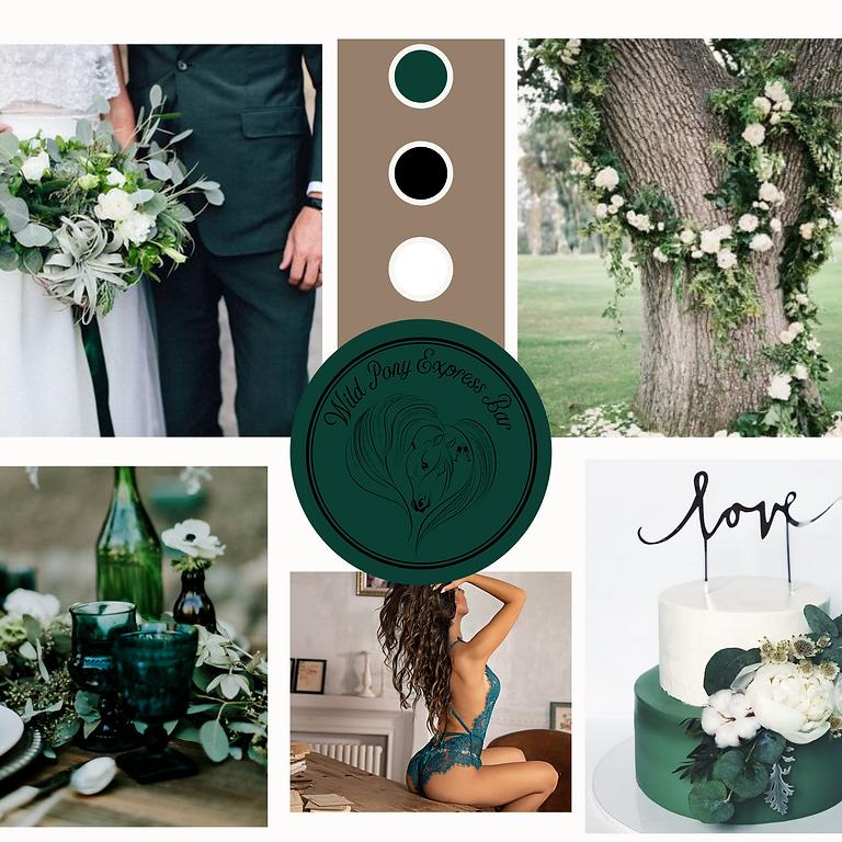 Emerald Back Yard Wedding Photo Shoot- Date TBD