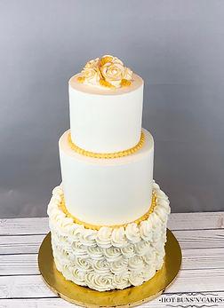 3 Tier 50th Anniversary Cake