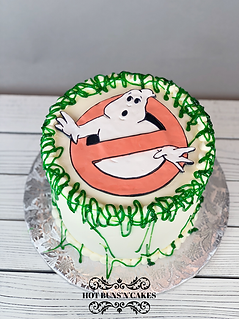 ghost busters themed cake ghostbusters cake green lime