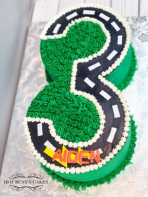 Cars Themed Birthday Cake 3rd