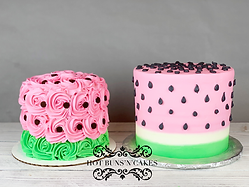 WATERMELON CAKES SMASH CAKE ONE IN A MELON CAKE