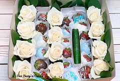 10TH ANNIVERSARY CHOCOLATE COVERED STRAWBERRIES