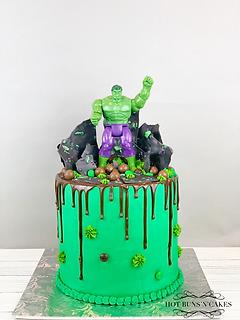 """Hulk Cake 8"""""""
