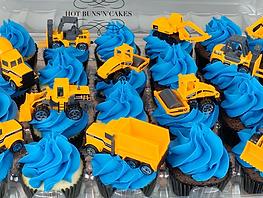 Constrution Cupcakes