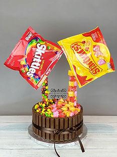 candy cake skittles starbursts kitkat
