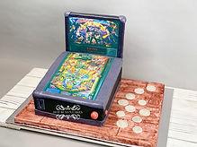 Pinball Machine Cake