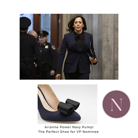 Arianne Power Navy Pump! The Perfect Sho