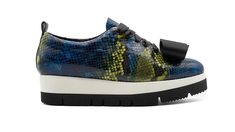 Zeno Sneaker Blue Python