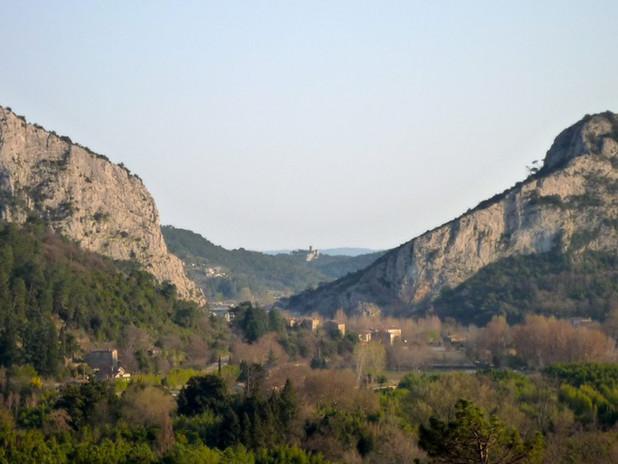 Aux alentours : vue d'Anduze, la porte des Cévennes