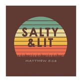 Salty & Lit Logo