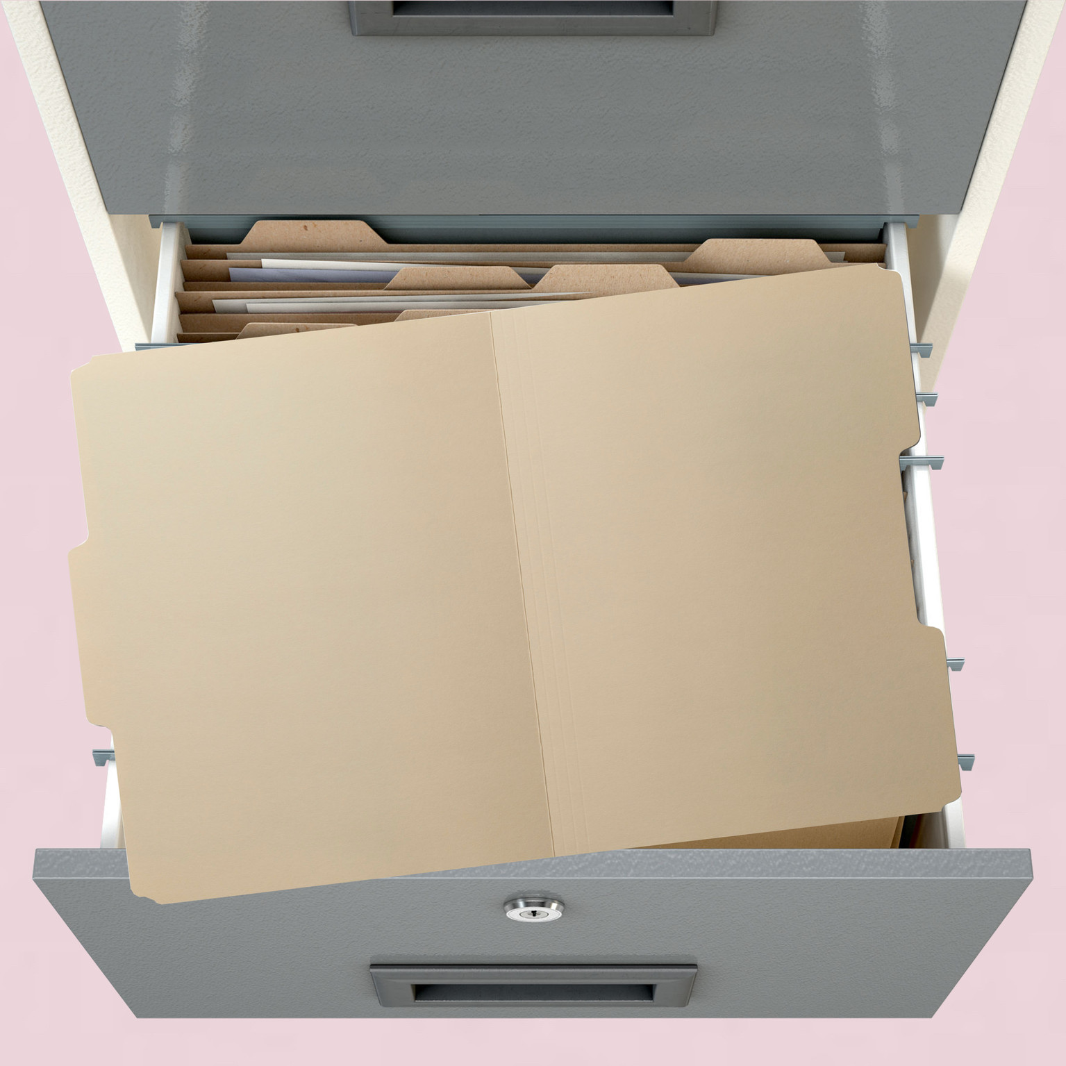Background image of filing cabinet