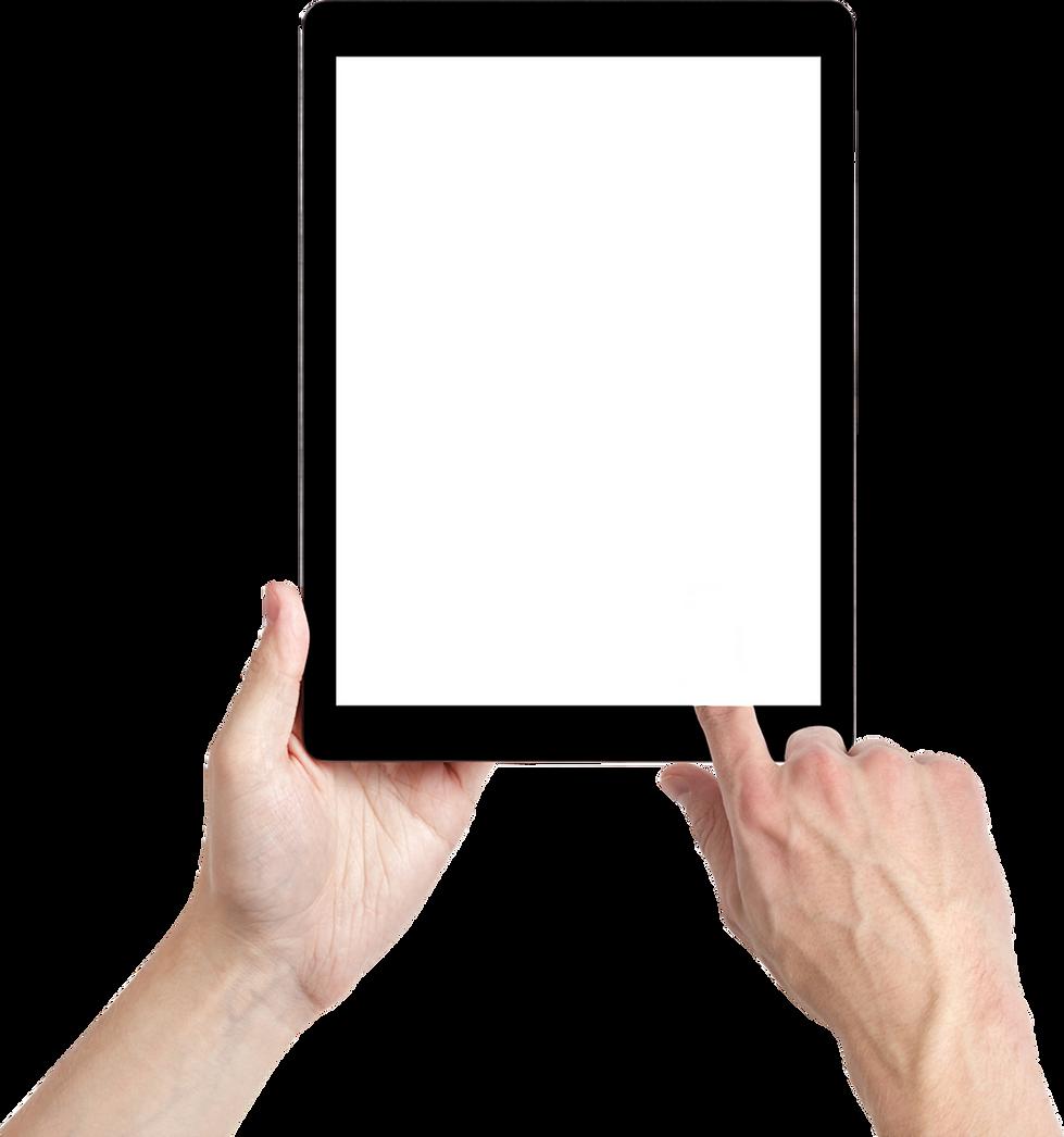 Ipad to display video categories