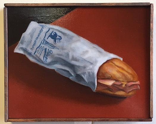 "Sandwich #32 ""Ham and Cheddar To Go"""