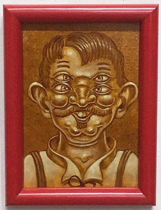 """""""R. Biggs Sepia Painting #1"""""""