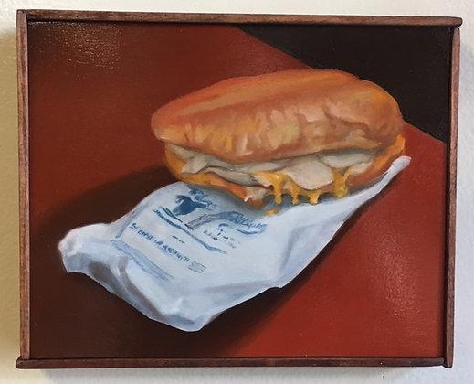 """Sandwich #27 """"Turkey with Mustard To Go"""""""