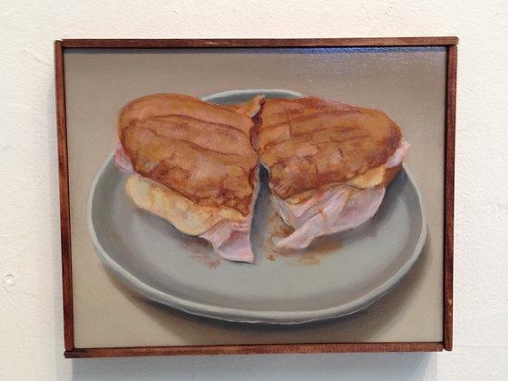 "Sandwich #6 ""Ham & Cheese Double Dip"""