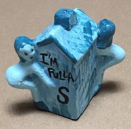 """""""All in One Salt & Pepper Shaker"""" - Blue"""