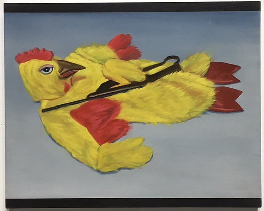 """Chicken Robber Costume with Rifle"""
