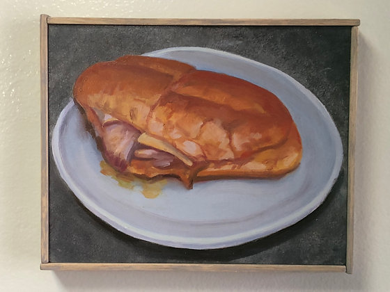 """Sandwich #15 """"Double-Dipped Pork with Swiss"""""""