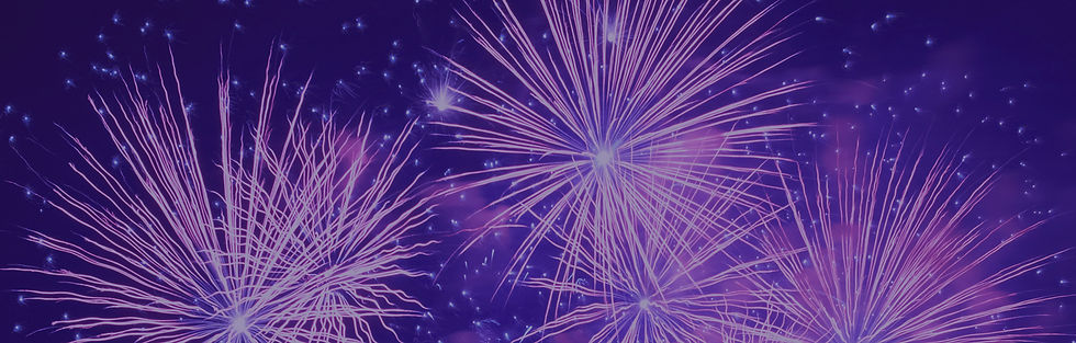 Purple Fireworks Background - Royalty-Fr