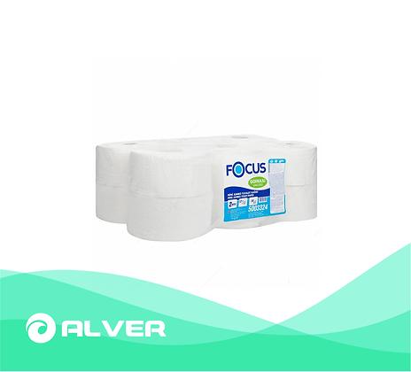 Туалетная бумага Focus, для диспенсеров с центральной вытяжкой, 2 слоя, 150м