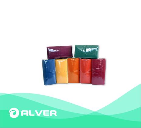 Салфетки цветные, 33*33, 1 слой, 300 шт.