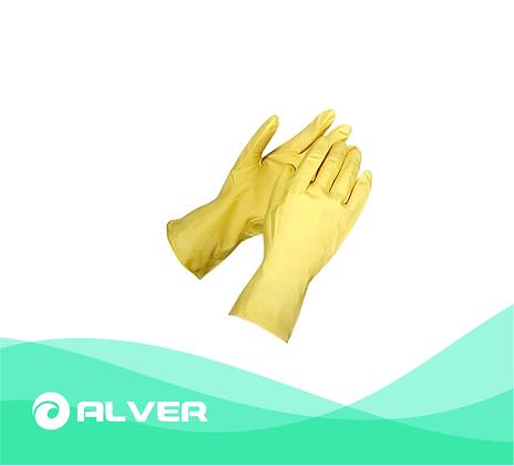 Перчатки для уборки резиновые Размер:M,L