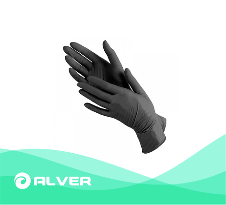 Перчатки нитриловые, смотровые, не опудренные , размер S,M,L