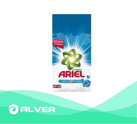 Стиральный порошок ARIEL 3 кг.для белого и цветного