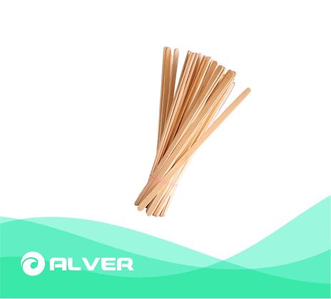 Размешиватель бамбук прямой 178 мм