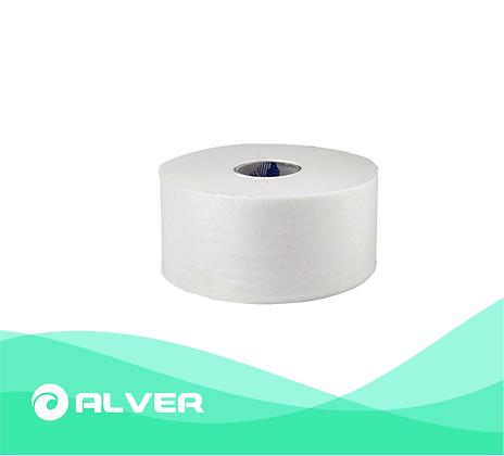Туалетная бумага белая, 2 слоя, 120м