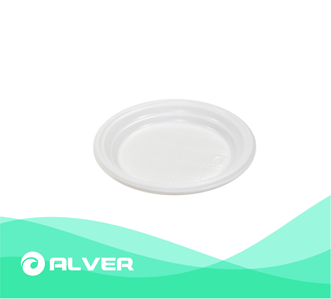Тарелка d-165 (Белая,цветная)