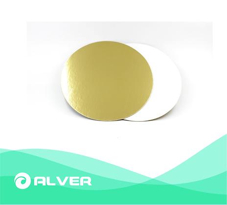 Подложка для торта золото D30