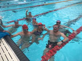 Squad swimming