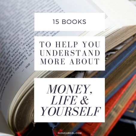 15 books to help you understand more about money, life and yourself